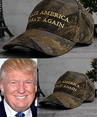 Republican MAKE AMERICA GREAT AGAIN Camo CAP HAT Donald Trump 2016 EMBROIDERED