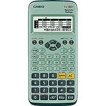 Casio FX-92 College 2D - Calculadora científica (con batería), color verde