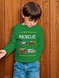 Rescue Team Firemen Policemen Ugly Christmas