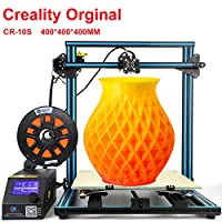 Creality CR-10 S4 3D Printer with Filament Monitor Dual Z Axis Large Printing Size 400x400x400mm 1.75mm Filament DIY 3D Printer