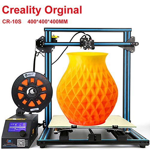 Creality 3D CR-10 S4 3D Printer with Filament Monitor Dual Z Axis Large Printing Size 400x400x400mm 1.75mm Filament DIY 3D Printer