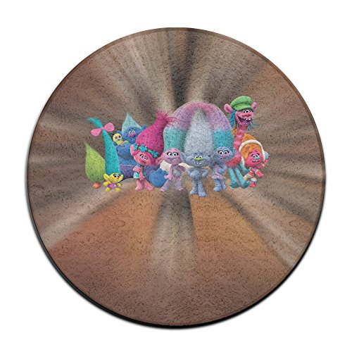 Dreamworks Trolls Round Carpet Rug 24 inches