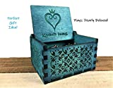 PhoenixAppeal Beautiful Carved Wooden Music Box