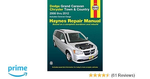 dodge grand caravan chrysler town country 2008 2012 repair rh amazon com 2014 chrysler town and country ves manual 2005 Town Country Repair Manual