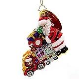 Christopher Radko Shop 'Til You Drop Christmas Ornament, 4 Multicolor