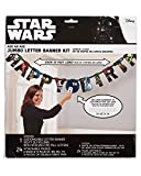 American Greetings Boys Star Wars Add-an-Age Birthday Party Banner