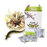 [Jeongwoodang]Mudfish Medical Herb Extract 30 Pack/After Pregnancy Care Product/Iron/Calcium/Stamina/미꾸라지즙/泥鰍汁 Sold by Stylebang