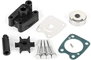 Outboard Water Pump Impeller Repair Kit, 6E0-W0078-A2, Fit for Yamaha 4hp 5 hp 2 str outboard 4A 5