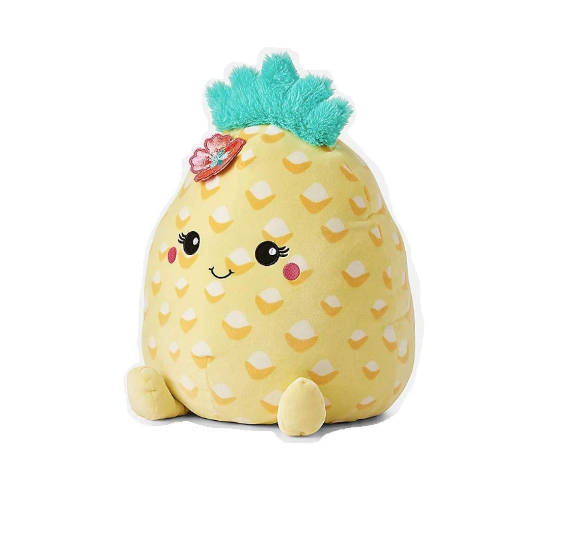 Justice Squishmallow 16'' Large Summer The Pineapple Yellow Super Soft Plush Pillow Stuffed Animal