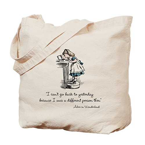 CafePress Different Person Natural Canvas Tote Bag, Cloth Shopping Bag