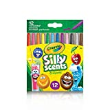 Crayola Silly Scents Mini Twistables Crayons, 12 Count, School and Craft Supplies, Gift for Boys and Girls, Kids, Ages 3,4, 5, 6 and Up, Holiday Toys, Stocking , Arts and Crafts,  Gifting
