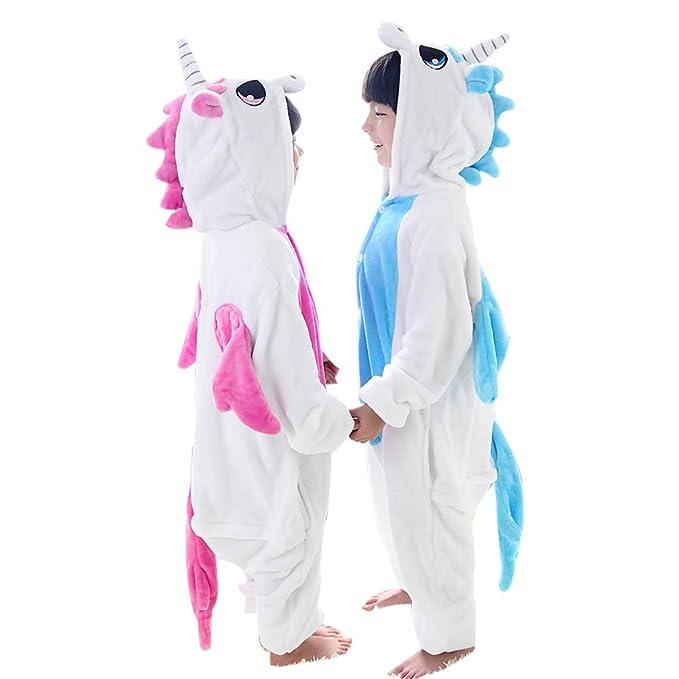 c0672bcd9 Amazon.com  Duraplast Kids Unicorn Costumes Halloween Onesie Pajamas ...