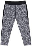 Calvin Klein Big Girl's Performance Leggings, White Large (12/14)