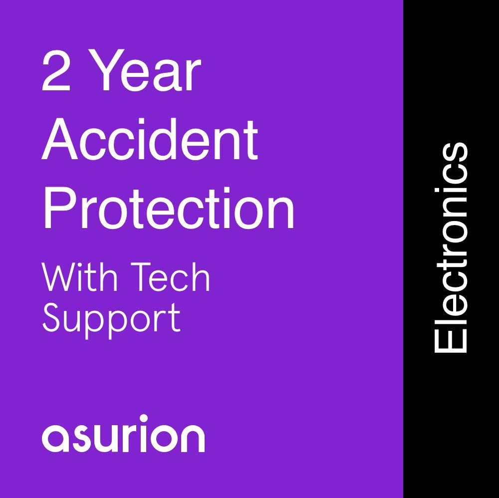 ASURION 2 Year Portable Electronic Accident Protection Plan with Tech Support $125-149.99