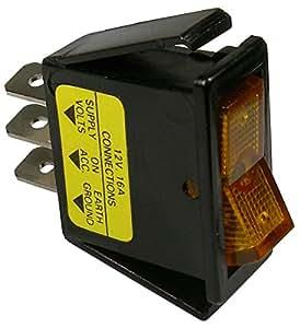 BBT Marine Grade Lighted Red LED On//Off 20 amp 12 volt Toggle Switch