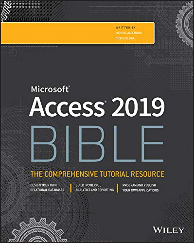 Access 2019 Bible  English Edition