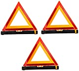 Multiprens DOTTRI Emergency Roadside Folding Warning Triangle Reflector (D.O.T. Approved)