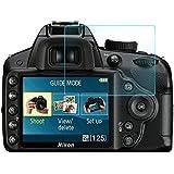 Wunderglass - Nikon D3300 9H Vetro Temperato antiproiettile Pellicola salvaschermo Protettiva Protezione Protettore Glass Screen Protector - di OKCS®