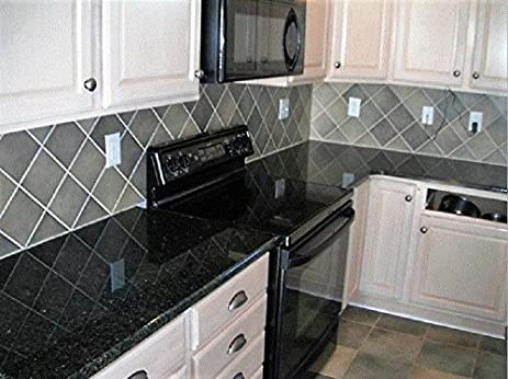 Counter Top Paint ? No : Black GRANITE Peel And Stick PET/PVC FILM NOT