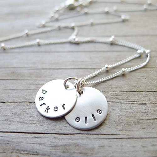 Mom Necklace with Kids Names