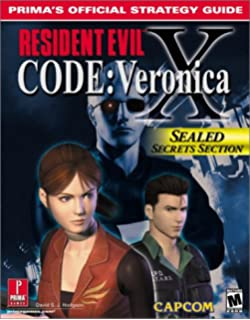 Resident Evil Code Veronica X Primas Official Strategy Guide