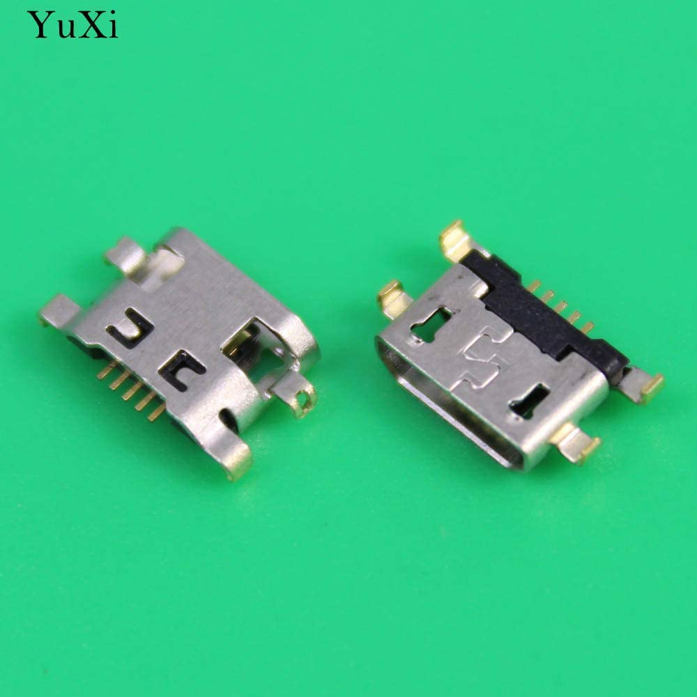 Cable Length: 1pcs Occus Yoton for Alcatel 7040N 7040T Micro USB Jack Socket Connector Charging Port Socket for Huawei Ascend G7 C199 G7-TL00 UL20 C199S