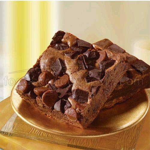 Sweet Street Fabulous Chocolate Chunk Brownie, 18 Slice, 3 Pound -- 4 per case. by Sweet Street (Image #1)