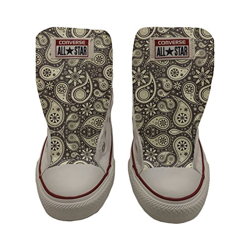 Converse All Star Slim chaussures coutume mixte adulte (produit artisanal) Indian Paisley