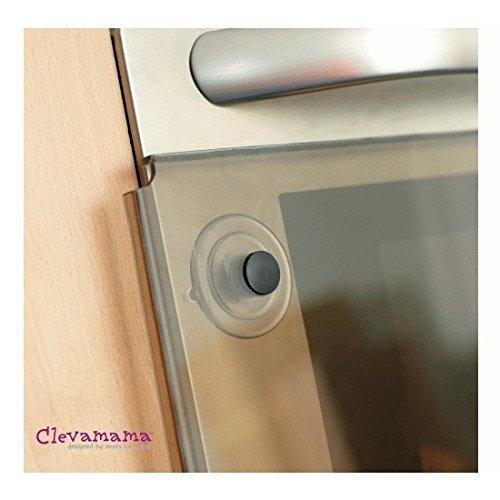 Clevamama Oven Door Baby Proofing Pack (Guard & Lock)