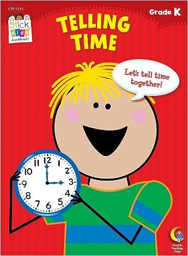 Amazon.com: Telling Time Stick Kids Workbook, Grade K (Stick Kids ...