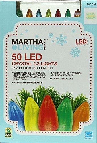 50-Light LED C3 Crystal Multi-Color Light Set (Christmas C3 Led Lights)
