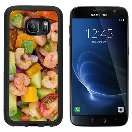 MSD Premium Samsung Galaxy S7 Aluminum Backplate Bumper Snap Case IMAGE ID: 30744754 Shrimp and avocado summer salad
