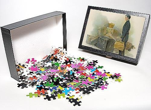 Photo Jigsaw Puzzle Of Hotel Page And Luggage