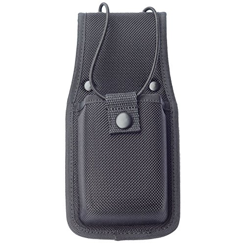Molded Universal Radio Case Duty Gear Radio Pouch for Duty Belt, Black