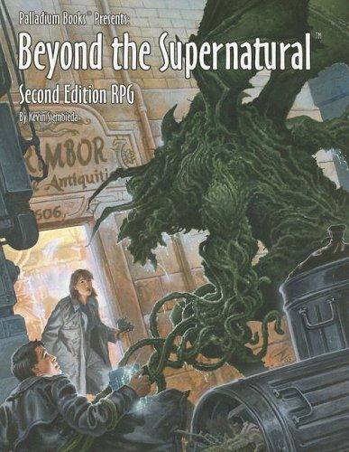 Supernatural Rpg Game (Beyond the Supernatural Rpg)