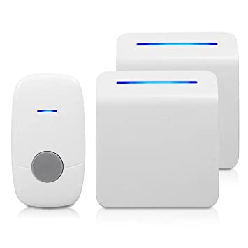 YIROKA Digital Wireless Doorbell with 48 Chime Tones: Amazon