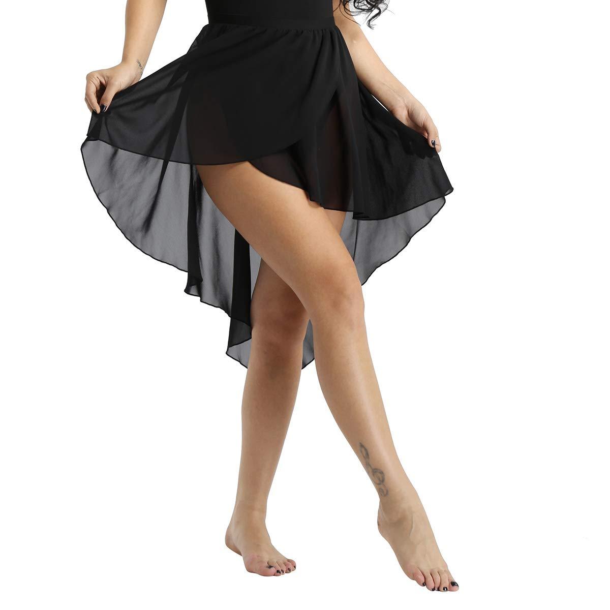 5eb8c1a6af87fe FEESHOW Jupe Danse Femmes Déguisement de Pom-Pom Girl Uniforme avec ...