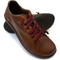 ¡¡Novedad!! Zapatisimos - Zapato para Mujer de Piel de Estilo Casual Antideslizantes con Cordones elásticos, cómodos…