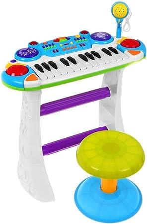 BSD Piano Electrónico Teclado Musical para Niños - 2 Octavas ...
