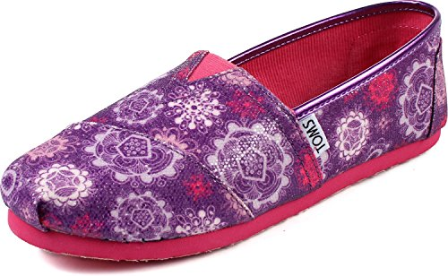Toms - Youth Slip-On Floral Flurry Shoes, Size: 6 M US Big K
