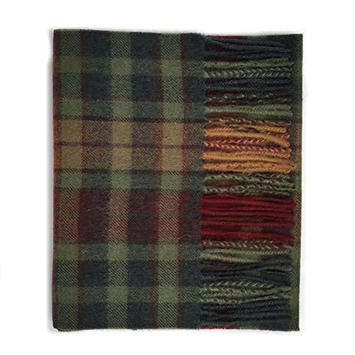 Kiltane of Scotland 100% Pure Cashmere Soft and Warm Tartan Scarf - Designed in Scotland - (Buchanan Autumn)