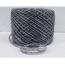 mohair silk yarn many color chose from set of 100 grame (grey color)