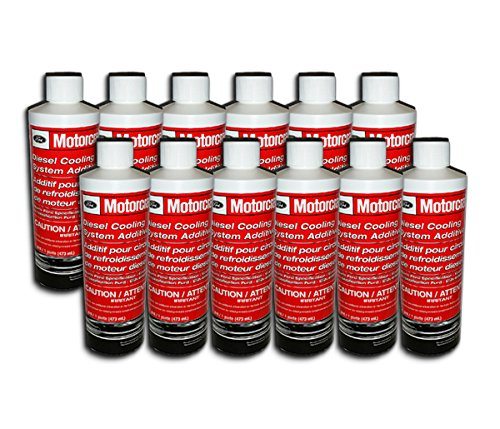Motorcraft Ford Diesel Coolant Additive VC8 - 12 Bottles by Motorcraft