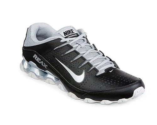 quite nice 1fe49 8019b Nike Men s Reax 8 TR, Black Metallic Silver - Pure Platinum, 8.5 UK   Amazon.co.uk  Shoes   Bags