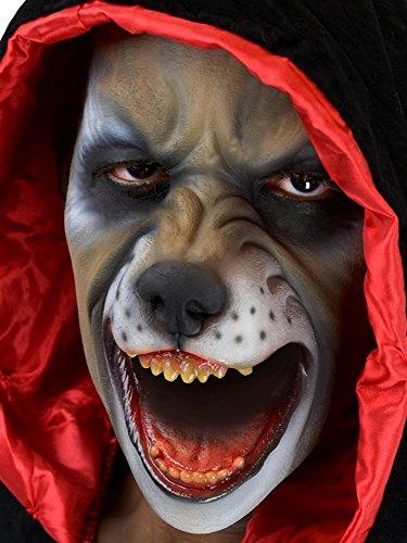 Cinema Secrets Woochie Foam Prosthetics - Professional Halloween and Costume Facial Accessories - Big Bad Wolf