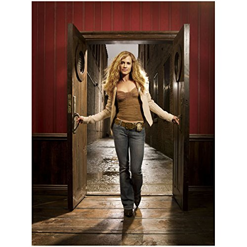 Holly Hunter 8x10 Color Standing in Doorway Holding Doors Open Wlo by Photograph