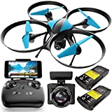 Force1 Drones with Camera – U49WF Drones with Camera for Adults, RC Drones for Kids, WiFi FPV Drone with 720p HD Drone Camera and Quadcopter Flying App
