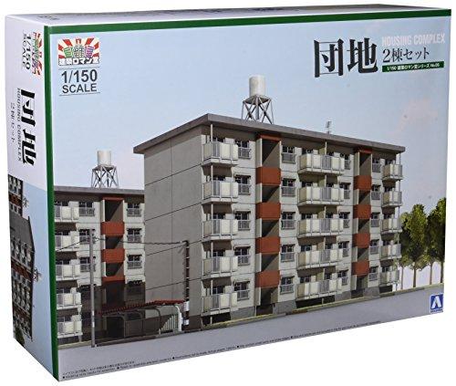 건축 로망당 1/150 단지 2 동세트 디오라마 용품 조립 키트