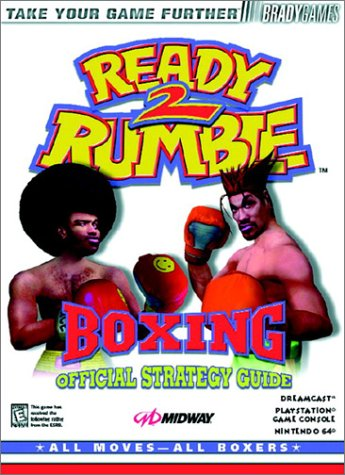 Ready 2 Rumble Boxing Official Strategy Guide (Brady Games)