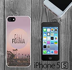 California Retro Beach Circle Custom made Case/Cover/skin FOR iPhone 5/5s
